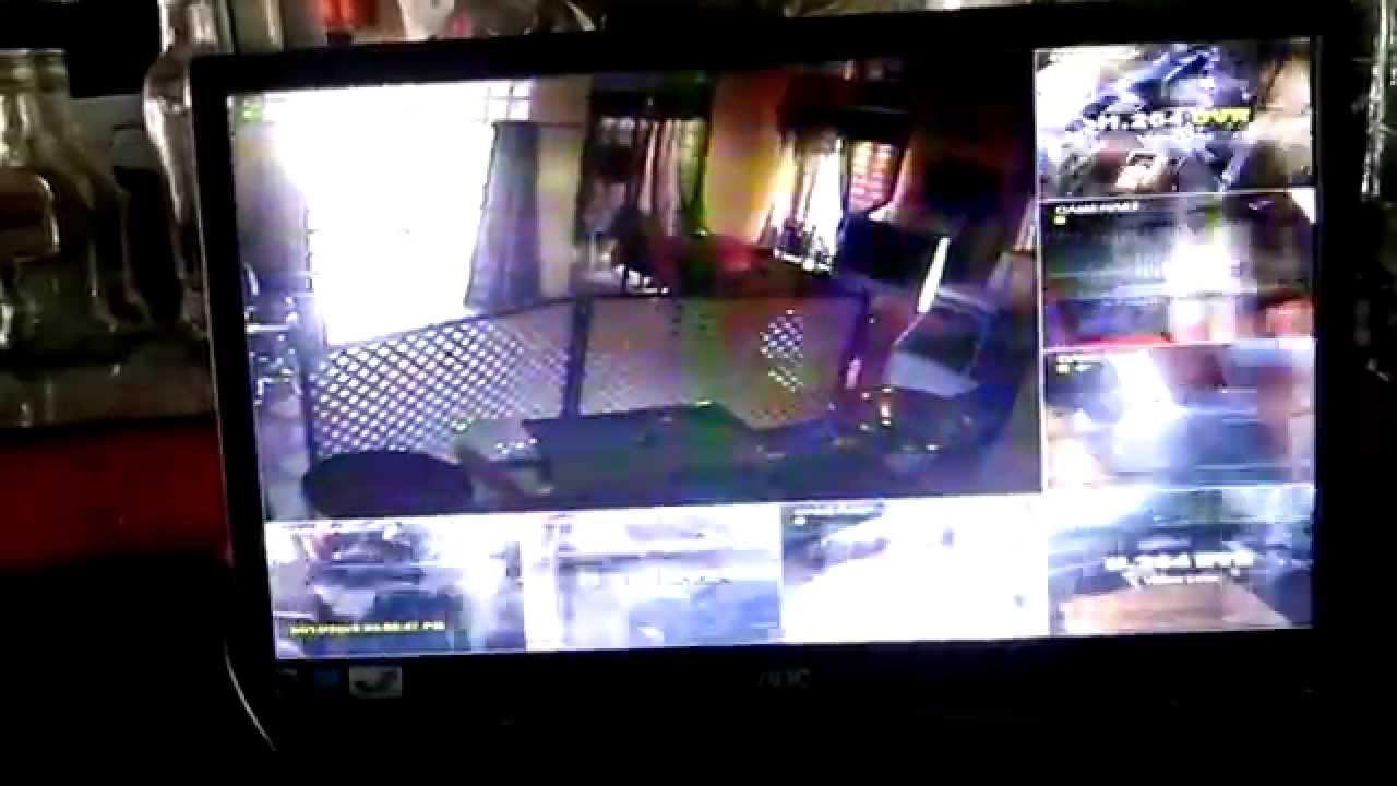 security camera image flickering