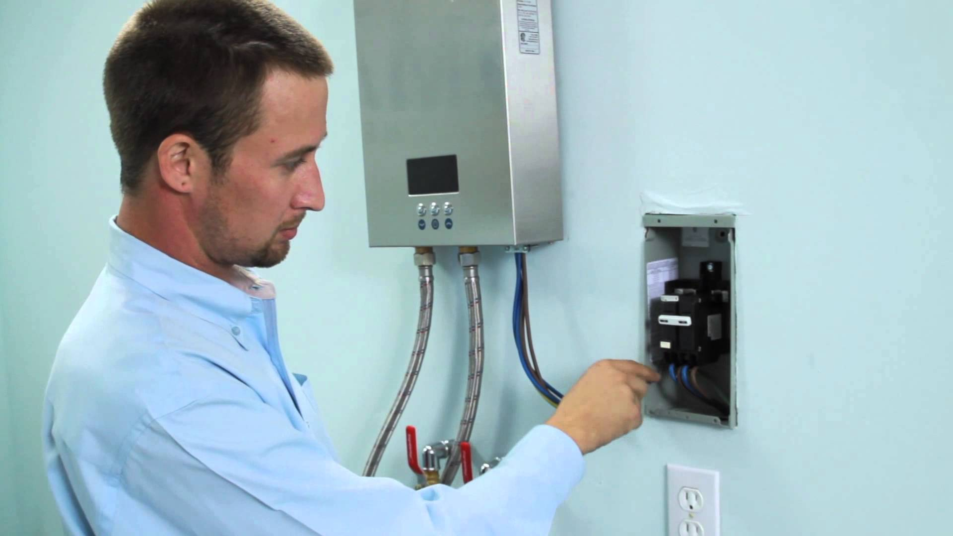 start the heat source of tankless water heater