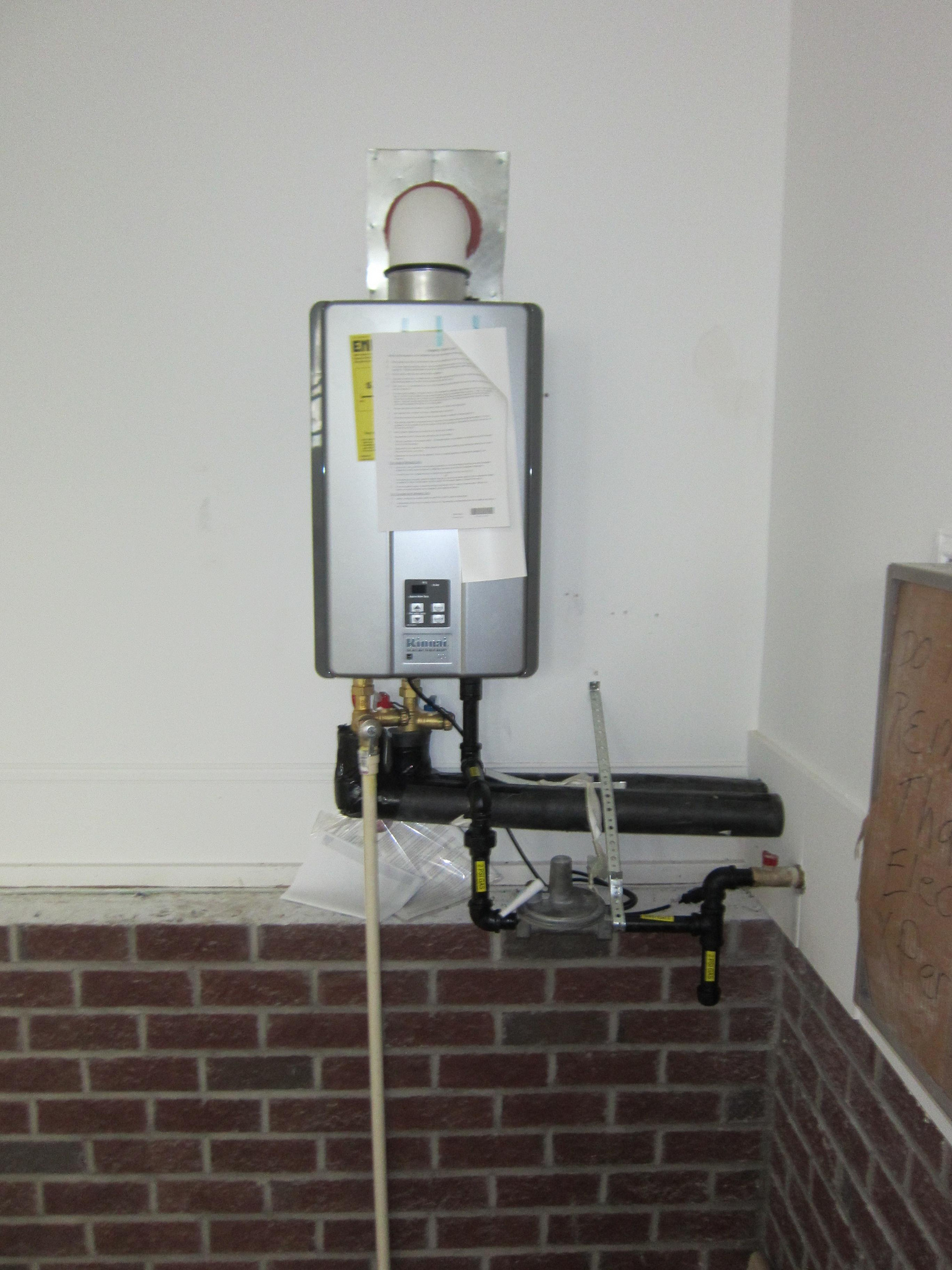 best place to install tankless water heater - New Water Heater