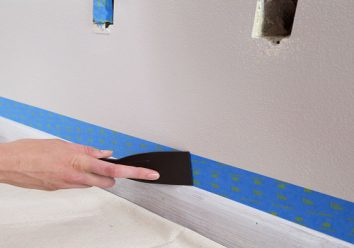 Get a painter tape when you repaint your walls