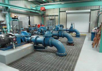Low water pressure area