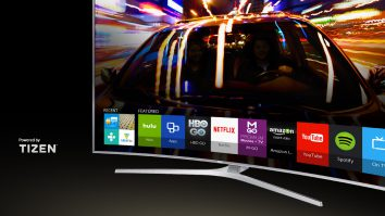 samsung smart tv with tizen operating system