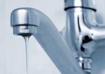 Slow water pressure