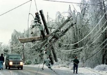 Natural calamities affect wiring