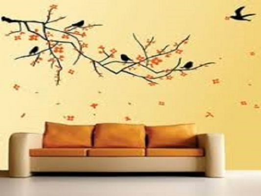 How to apply wall stickers