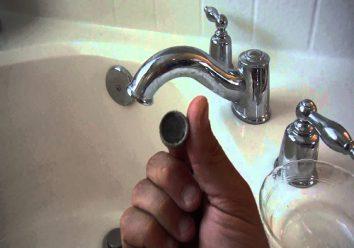 Bathtub Faucet Clog