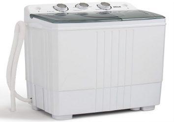 Della small compact washing machine