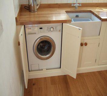 Freestanding Washing Machine structure