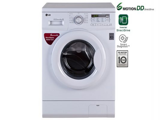A guide to use LG front load washing machines
