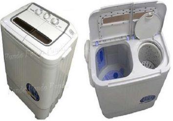 Panda small compact washing machine