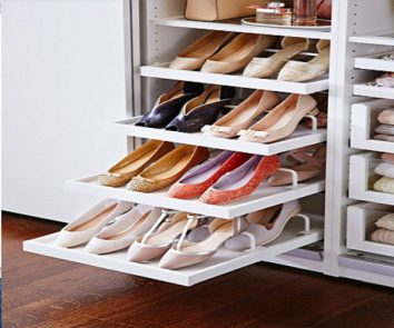Shoe storage solutions and hacks