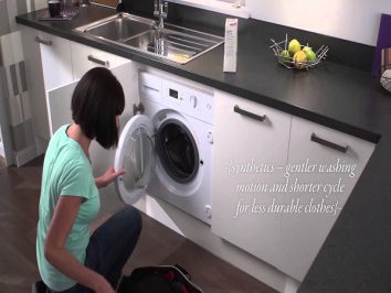 What are integrated washing machines and how to install them