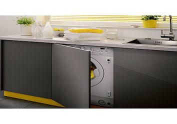 The concept of an integrated washing machine