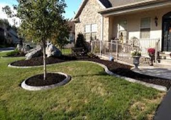 Concrete edging and curbing