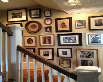 Displaying old family pictures