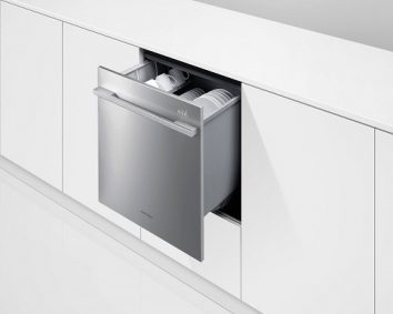 The compact dish drawer dishwasher
