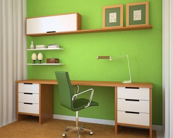 how to choose vibrant colours for your home office  ideas