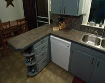 space for a dishwasher