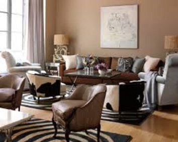 Check the colour of your furniture and fabrics