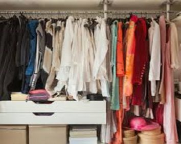 Clean your bedroom wardrobe