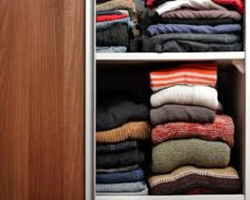 Fold your sweaters