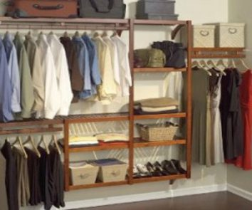 how to organize your bedroom closet and keep it that way