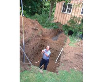septic tank checked by a professional in an interval of every 2 or 3 years