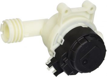 Dishwasher drain valve