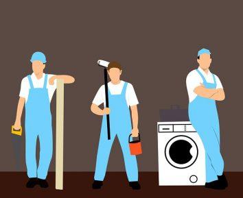 washing machine customer service repair