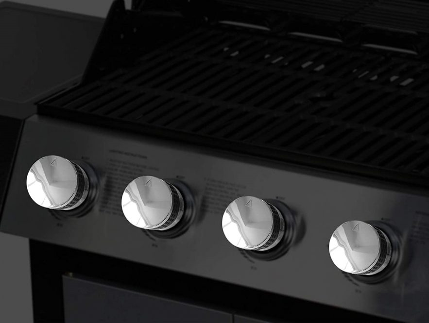 Gas grill control valves