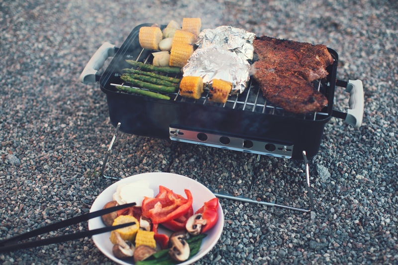 gas grill outdoor