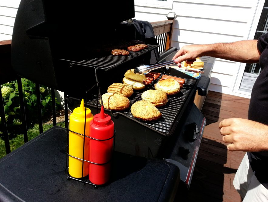 gas grill working