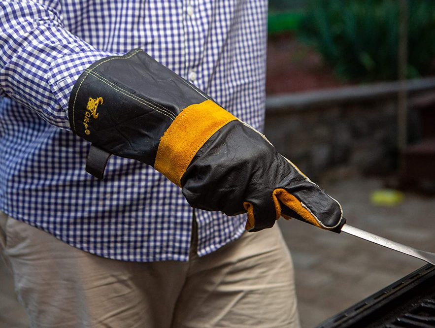 charcoal barbecue accessories welding gloves