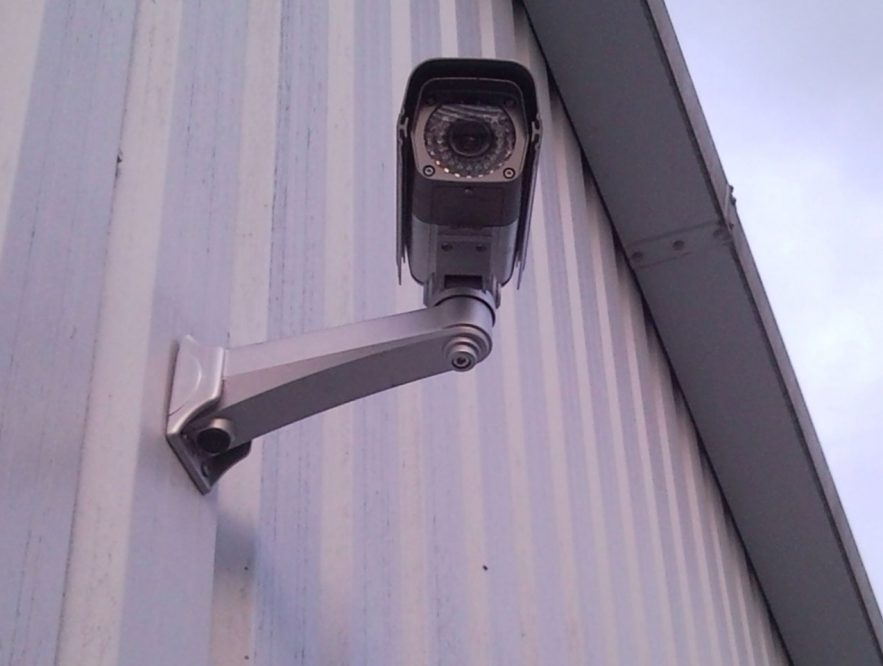 how to protect security camera from rain